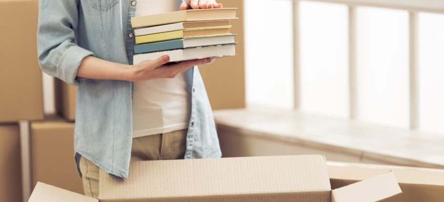 How to Pack Books for Moving – Everything You Need to Know