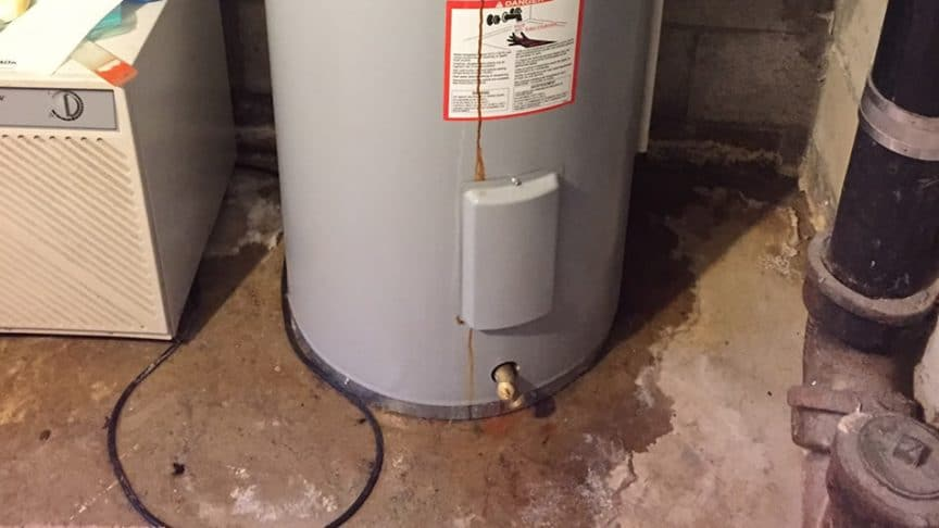 Steps to take when your Water Heater Leaks