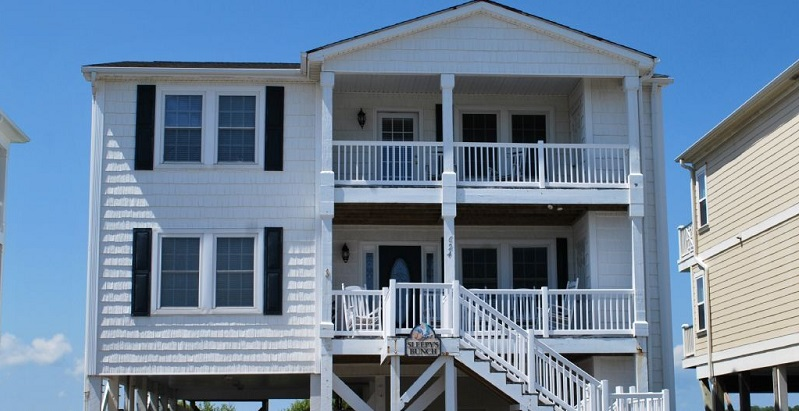 Holden Beach Oceanfront Rental Income
