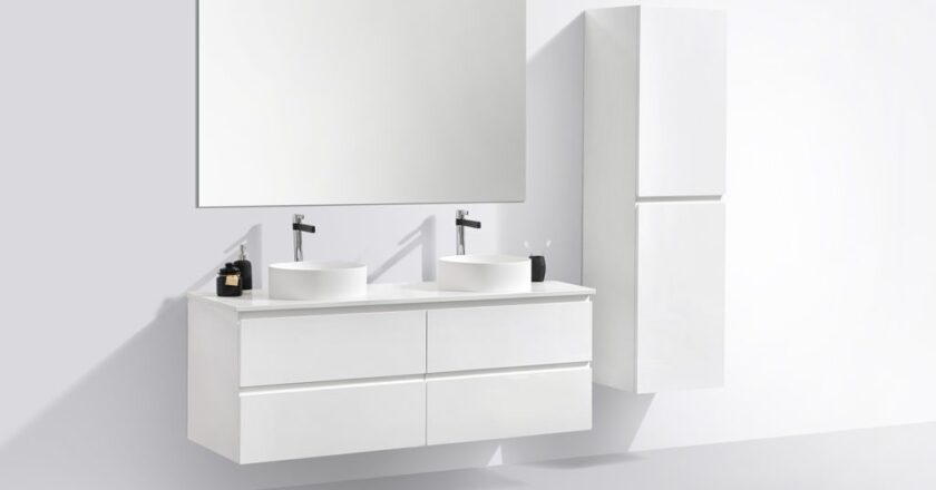 A Freestanding Vanity Unit Can Make a Difference