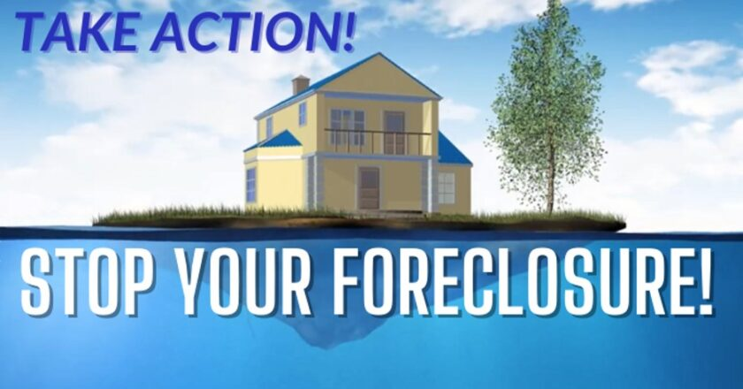 To Avoid Foreclosure, You Must Face It Head On!