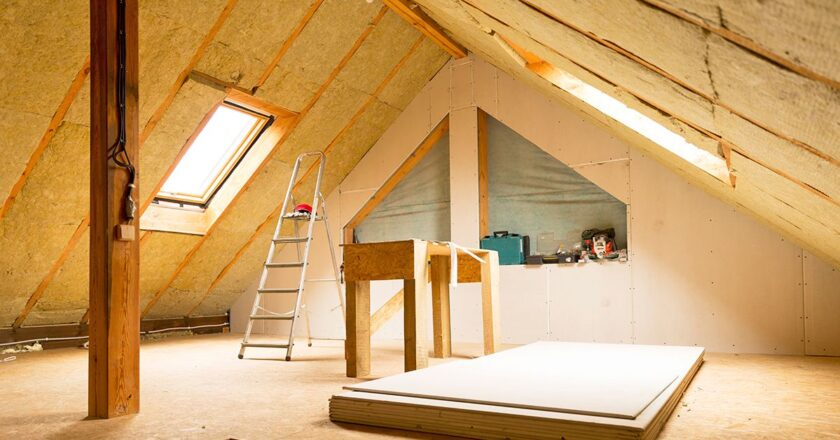 Make your house more energy efficient with attic insulation