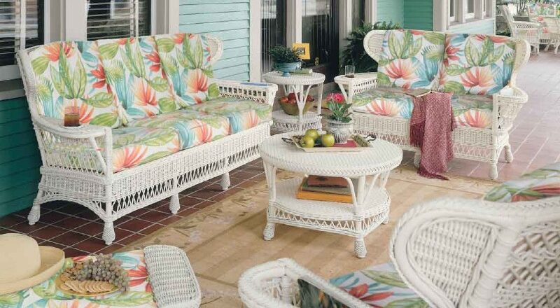 Excellent ways to extend the life of wicker furniture
