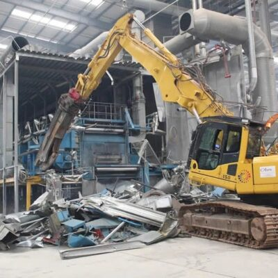 What is factory decommissioning?