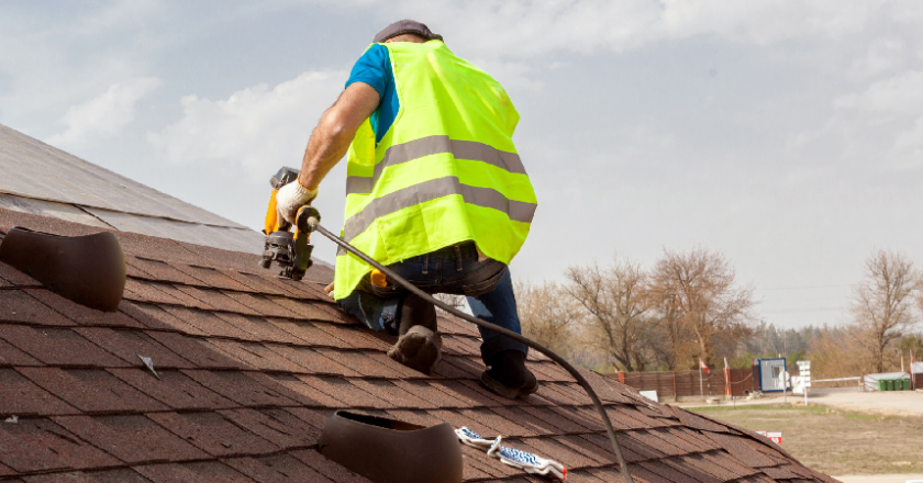 Black Storm – The Best You Can Get In Roofing Company Logo Creation
