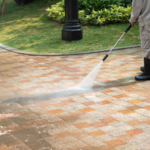 Concrete Driveways: Cleaning and Sealing