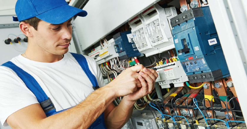 Why would you require the professional services of an electrical contractor?