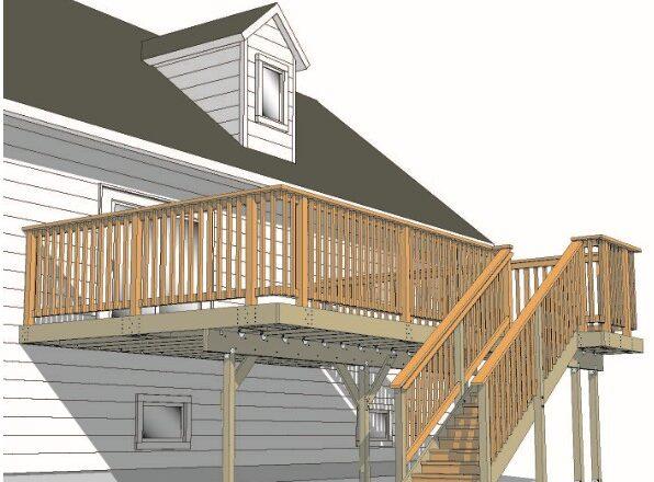 Deck Permit – Intricate Details