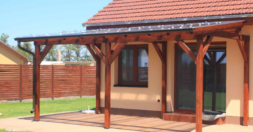 Customize your outdoors with attractive and qualitative arbours and pergolas.